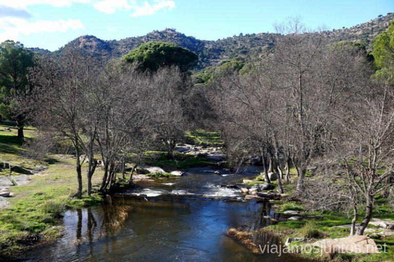 Río Cofio. Ruta de senderismo al Cerro o Risco de Santa Catalina.