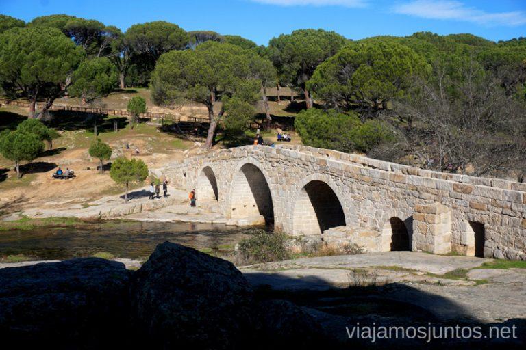 Puente Mocha, Valdemaqueda.