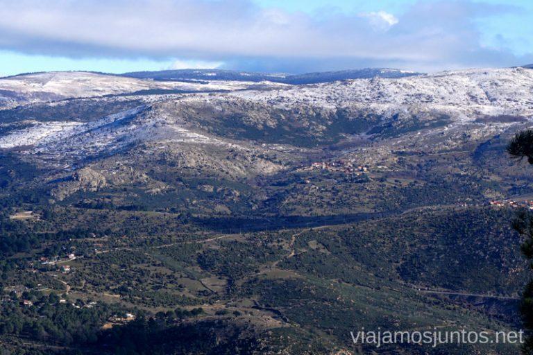 Castilla y León desde el Risco Grande.