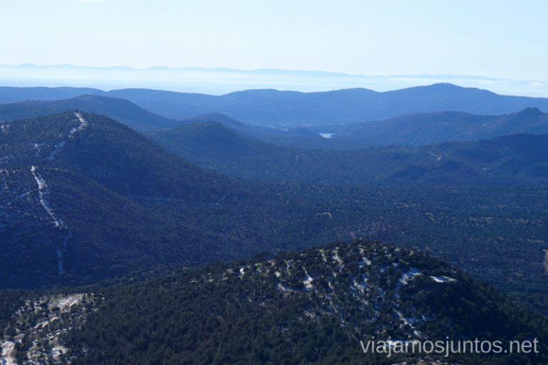 Vistas desde el Cerro de Santa Catalina.
