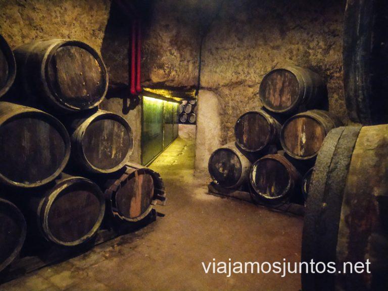 La cueva de la Antigua Bodega Los Llanos, Valdepeñas, Castilla-La Mancha.