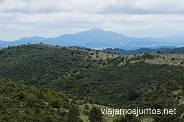 Vistas a la Sierra Norte de Madrid.