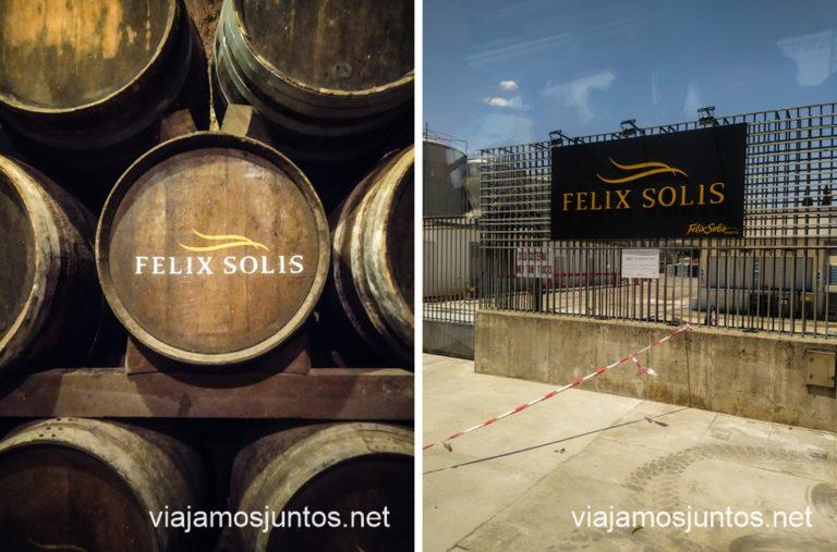 Bodegas Félix Solís. Cuevas y bodegas de la ruta del vino de Valdepeñas, Castilla-La Mancha.