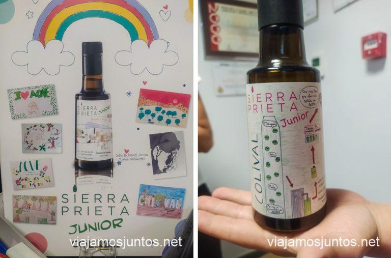 Concurso de dibujos para la etiqueta de una de los aceites de oliva de Covival.