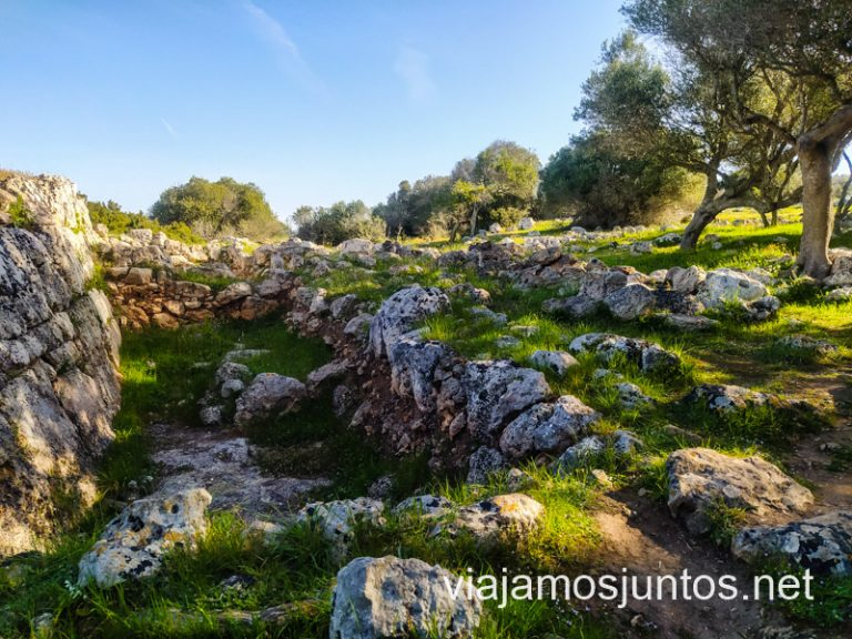 Poblado pretalayótico Son Mercer de Baix, Menorca.