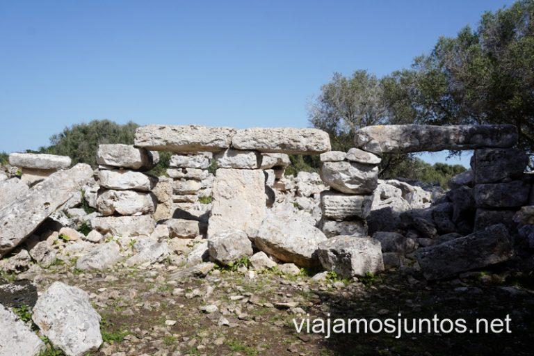 El edificio más enigmático y sorprendente de Menorca. Ruta por monumentos prehistóricos.