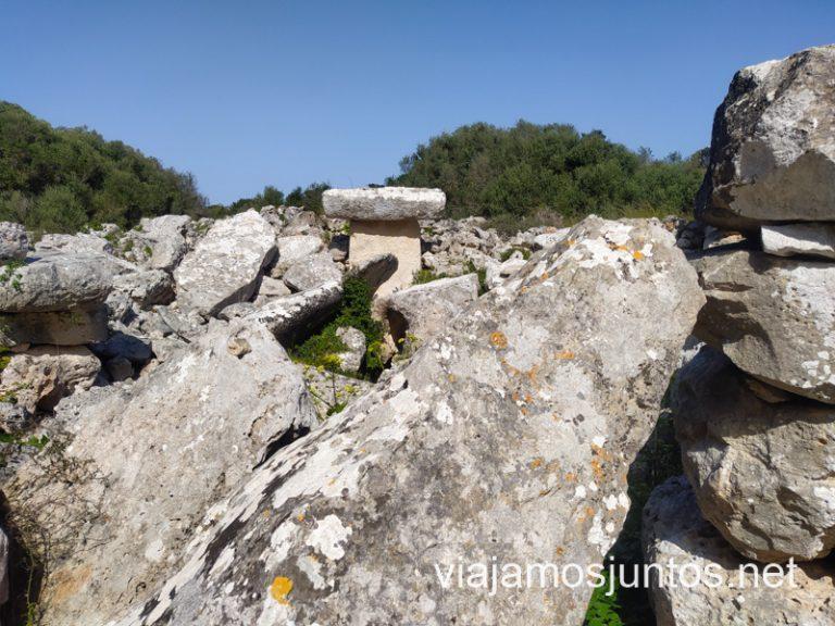 Comerma de Sa Garita, un monumento enigmático de la prehistoria menorquina.