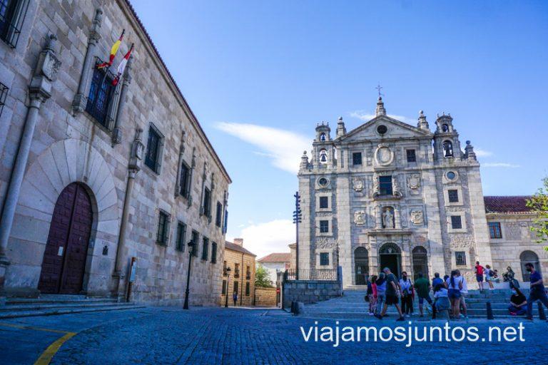 Ruta de los Palacios de Ávila: Palacio de Blasco Núñez Vela. Castilla y León.