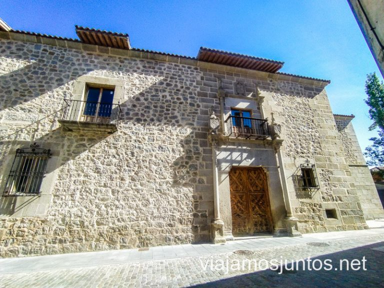 Casa de Miguel del Águila, Ávila.