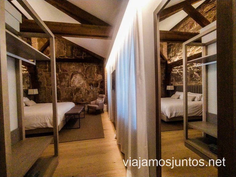 ¿Alguien con ganas de alojarse en el hotel-palacio Sofraga para poder dormir tocando la Muralla de Ávila?