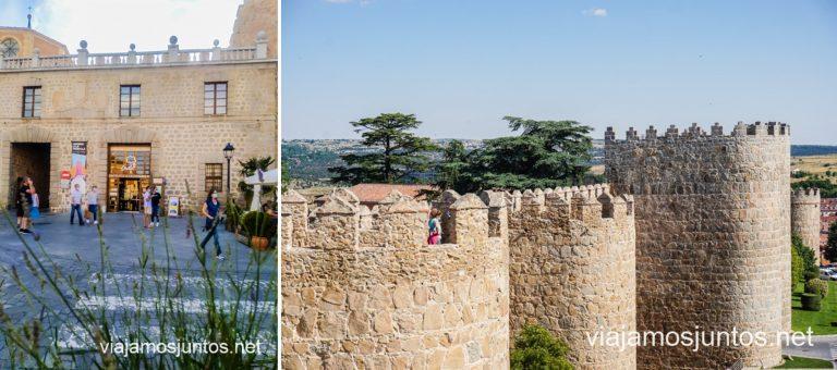 Casa de las Carnicerías - uno de los tres accesos a las Murallas de Ávila.