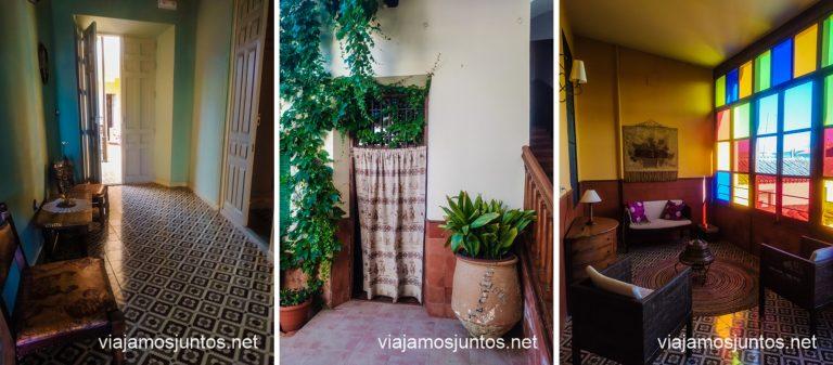 Casa Rural Doña Elisa en la Ruta del Vino de Valdepeñas, Castilla-La Mancha.