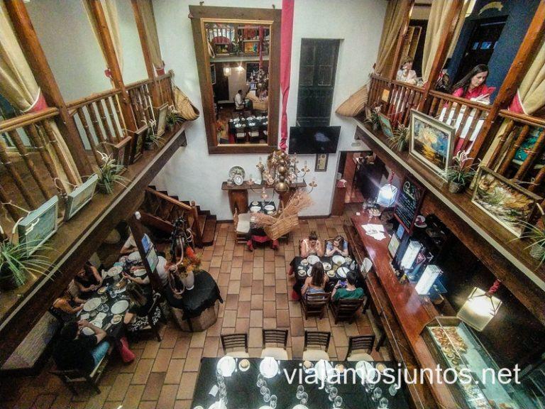 Restaurante La Venta del Comendador en la Ruta del vino de Valdepeñas, Castilla-La Mancha.