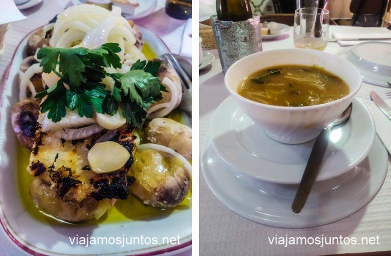 Restaurante O Adriano, Aveiro. Guía práctica del Norte de Portugal.