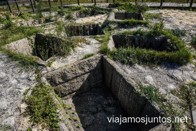 Tanques Romanos. Norte de Portugal.