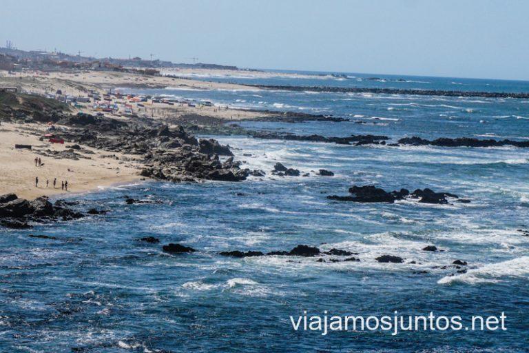 Vistas desde el vértice geodésico de São Paio. Norte de Portugal.