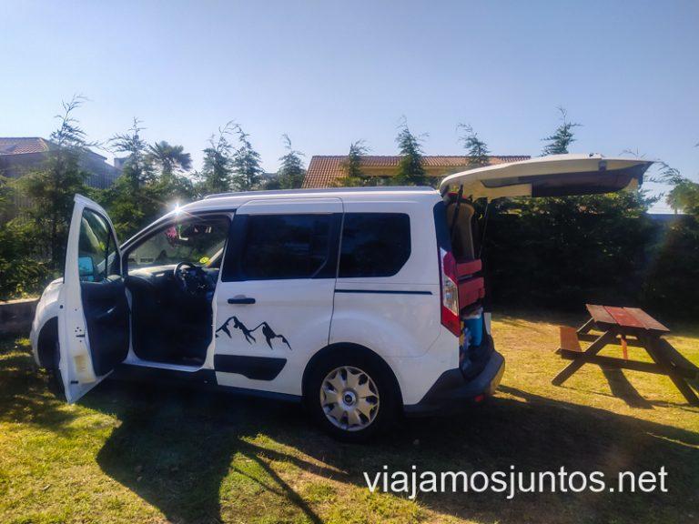 Vila Chã Camping. Consejos para organizar tu viaje por el Norte de Portugal.