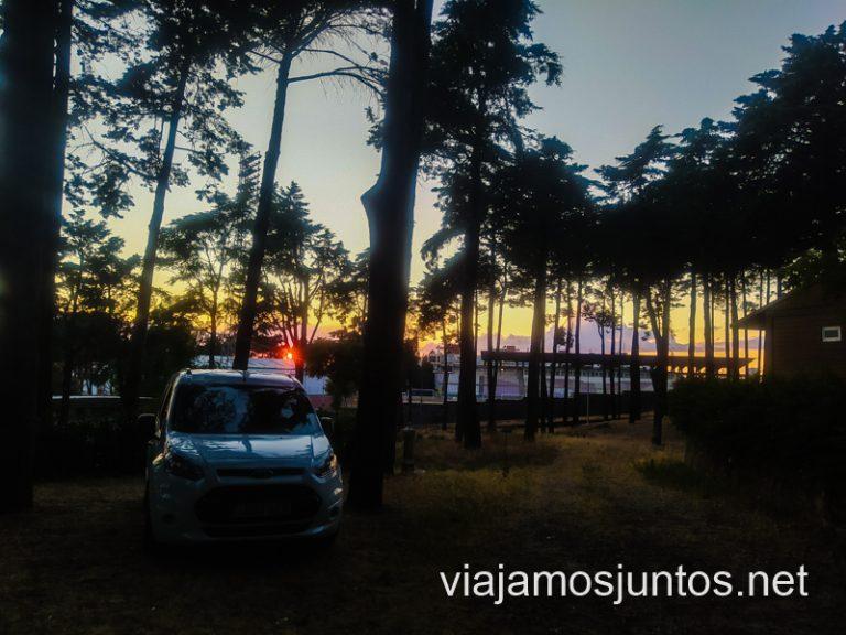 Camping municipal de Guarda. Consejos prácticos para organizar el viaje por el Norte de Portugal.