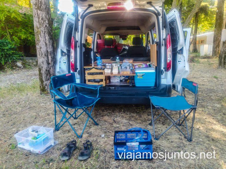 ¡Buenos días desde el camping del Norte de Portugal!