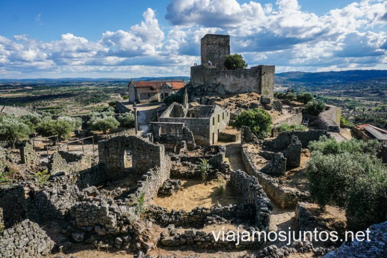 Aldea histórica de Marialva en el Norte de Portugal.
