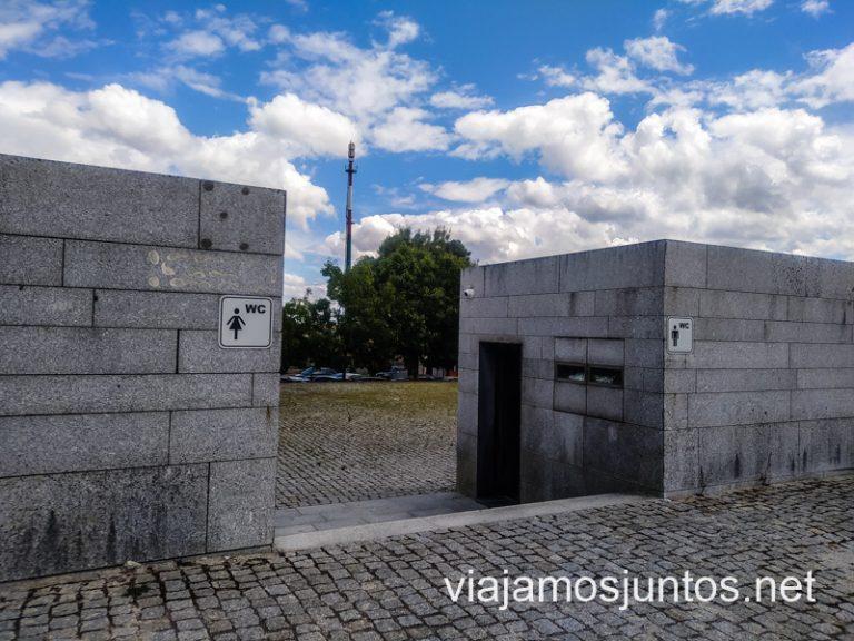 Baños Públicos en el Norte de Portugal.