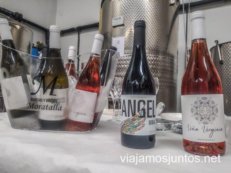 Cata en la Bodega y Viñedos Moratalla, Villanueva de la Jara.