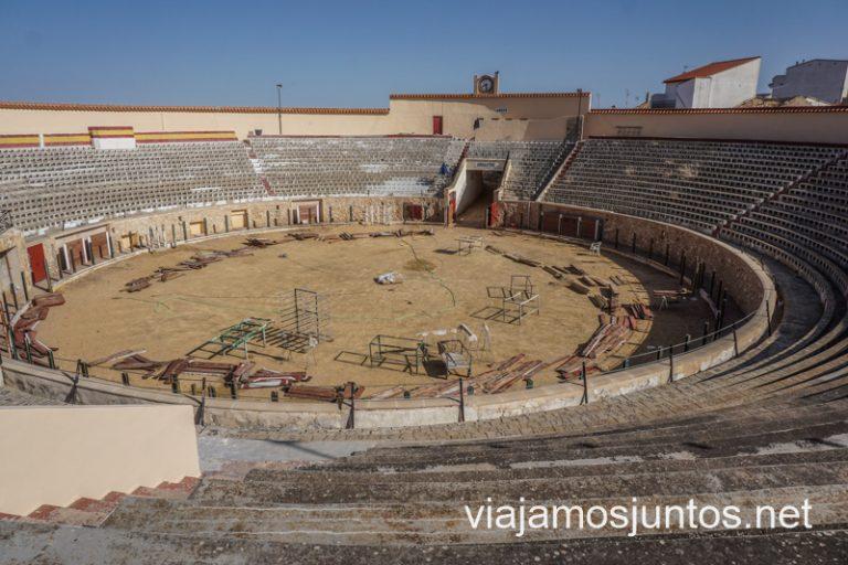 Plaza de toros de Iniesta, Castilla-La Mancha. Ruta del Vino de la Manchuela.