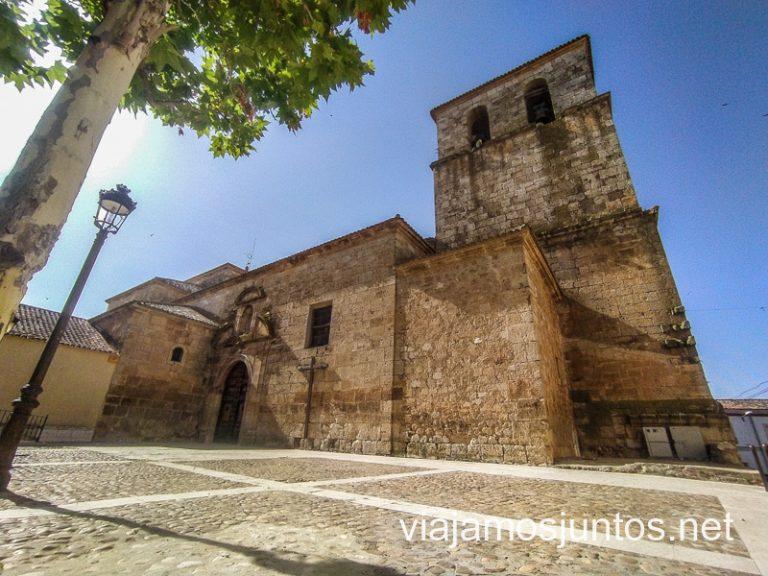 Iglesia parroquial de la Asunción. Qué ver en Iniesta, Ruta del Vino de la Manchuela, Castilla-La Mancha.
