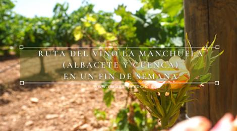 Ruta del Vino La Manchuela en un fin de semana.
