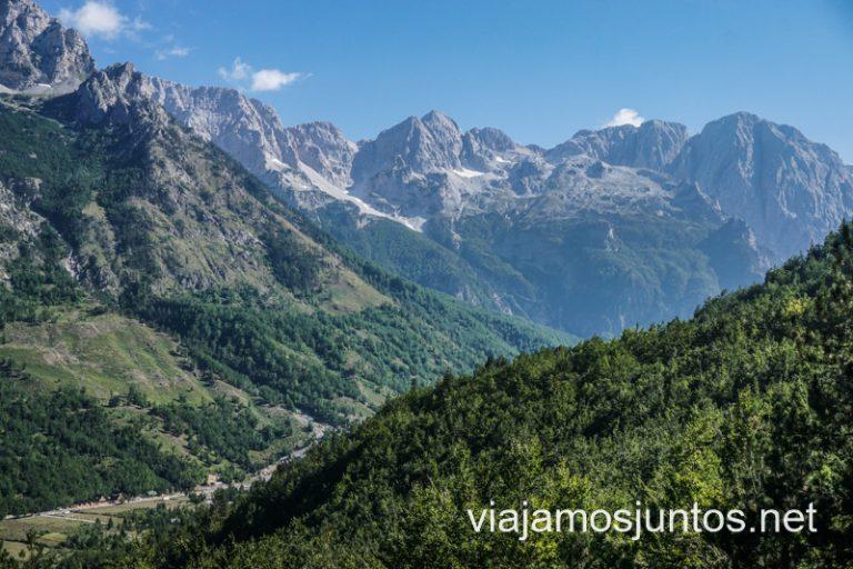 ¿Desconectamos? En los Alpes Albaneses es lo que apetece hacer.