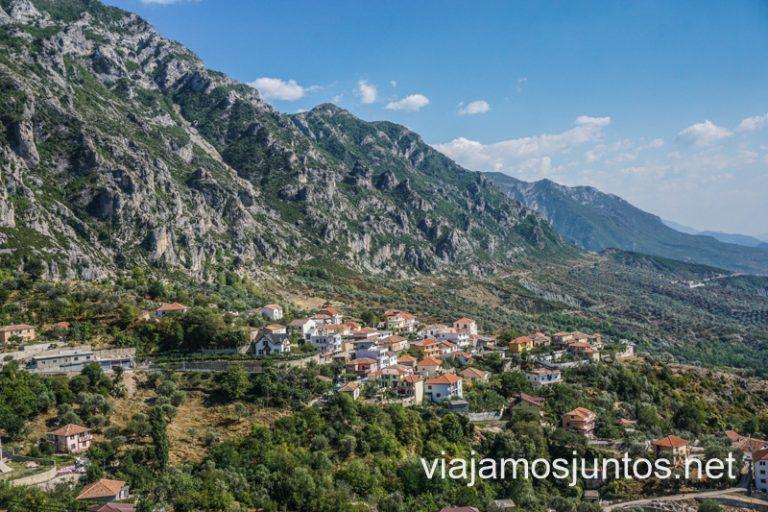Al final salió una ruta maja por Albania.