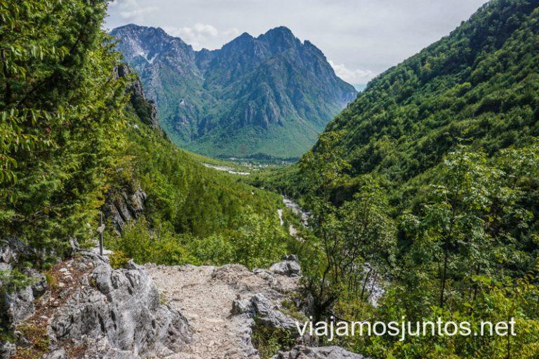 Bosques mixtos en Albania.